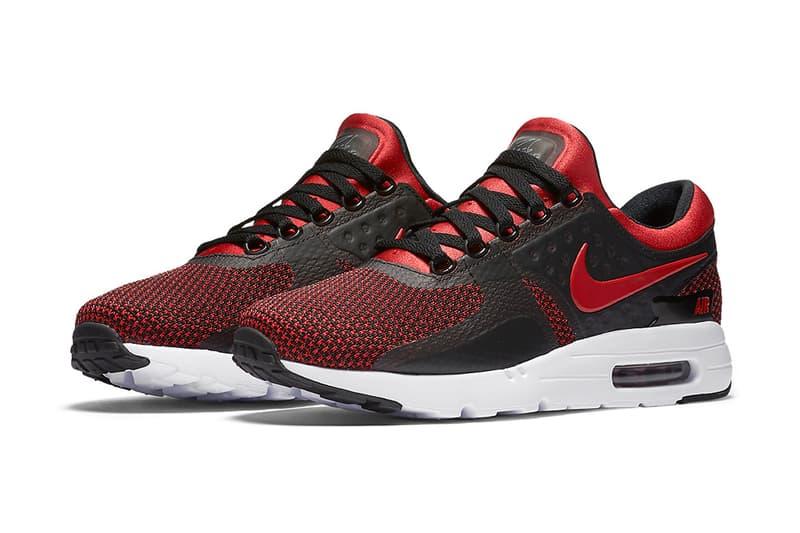 "Nike Air Max Zero ""Bred"" Colorway"