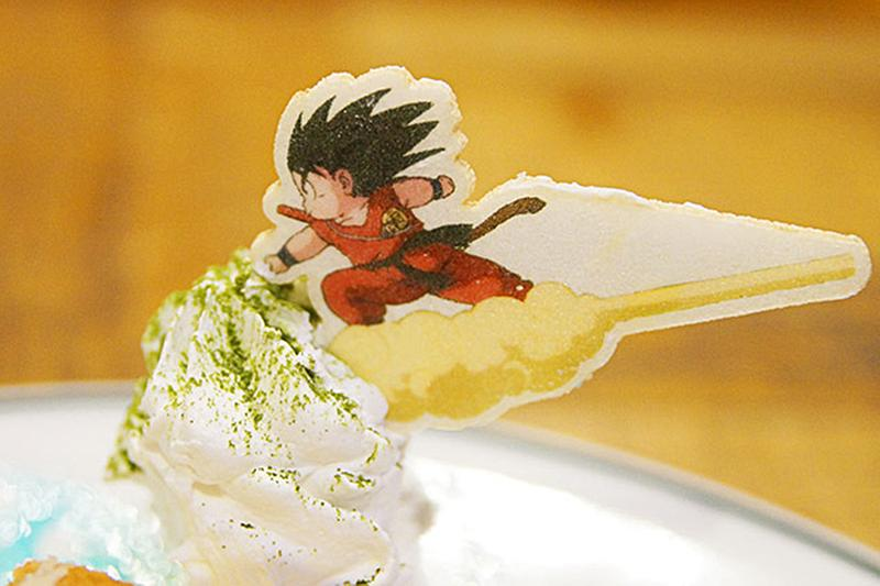 dragon ball cafe at japan