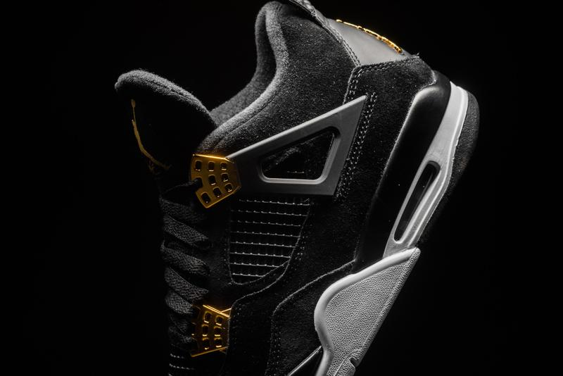 "Air Jordan 4 Retro ""Royalty"" Closer Look"