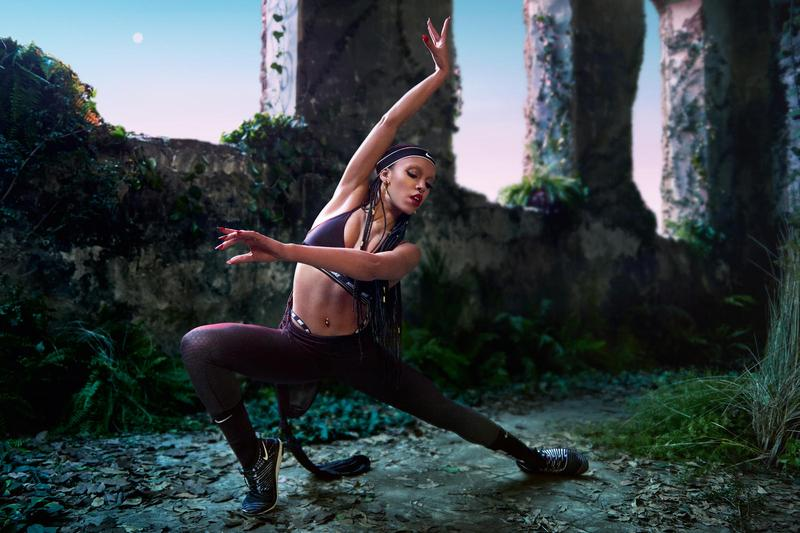 FKA twigs x Nike do you believe in more Campaign