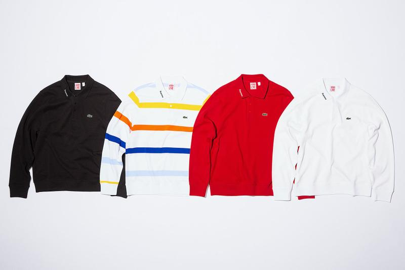 Lacoste x Supreme 2017 Spring/Summer Collection