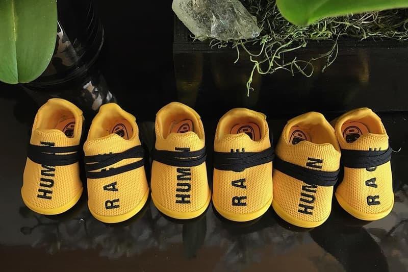Pharrell 曬出 adidas Originals Hu NMD 童鞋版本