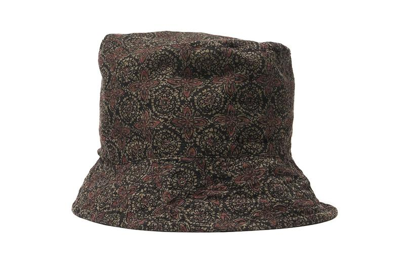 Unveils a Custom Floral-Printed Bucket Hat