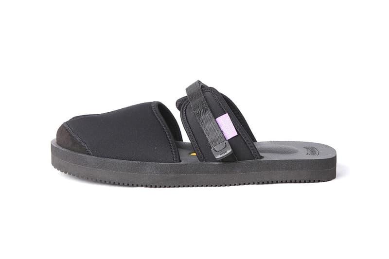 NEPENTHES & SUICOKE Purple Label Limited Edition Split Toe Sandals