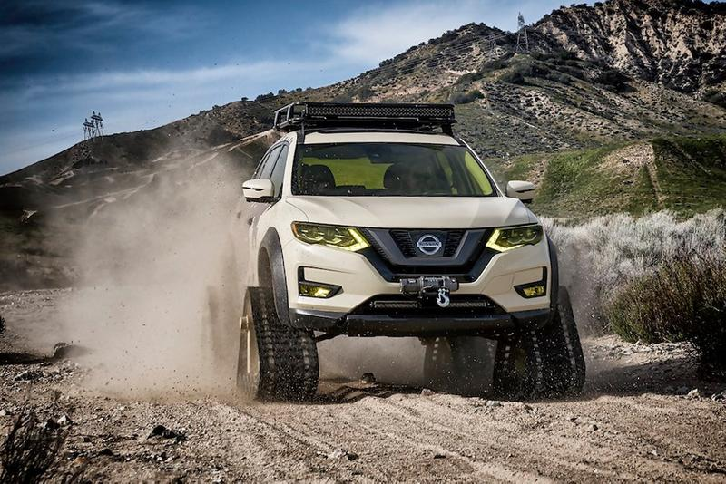 Nissan Rogue Trail Warrior Project 越野版 Rogue SUV 登場