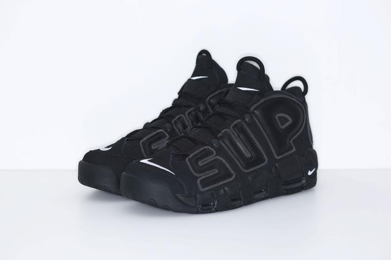 Supreme x Nike Air More Uptempo Official Images & Details