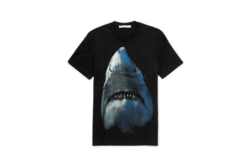 Givenchy 重新推出經典鯊魚圖案系列