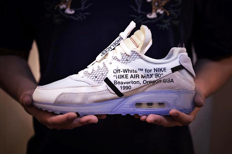 OFF-WHITE x Nike Air Max 90 最新實物諜照曝光
