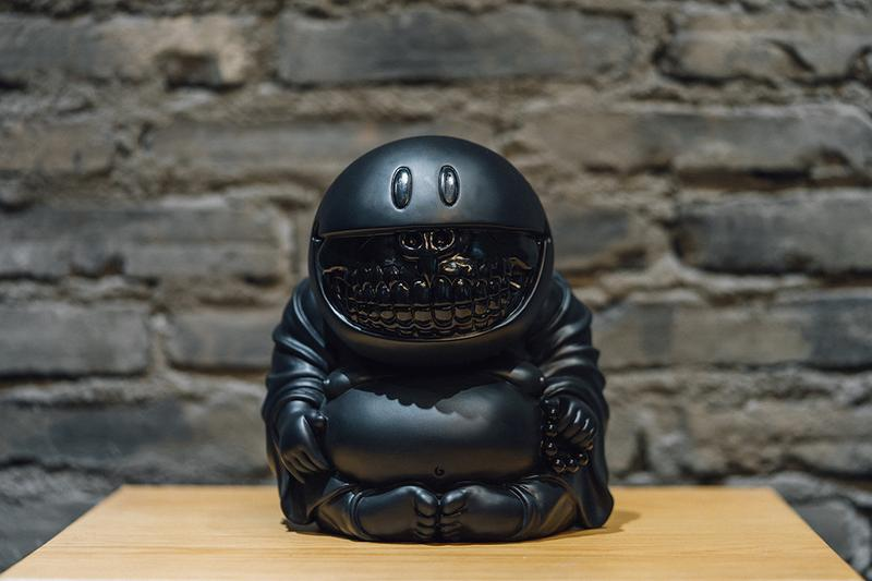 Ron English x DOE Shanghai Mad Happy Monk Grin