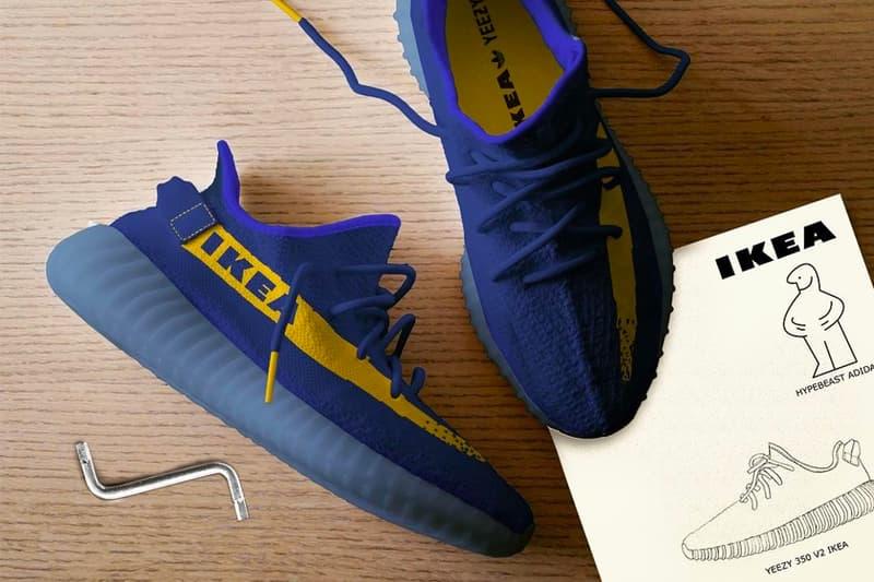IKEA x YEEZY BOOST 350 V2「聯名」概念設計