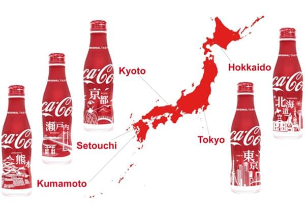Coca-Cola 推出限量版日本景點瓶身包裝