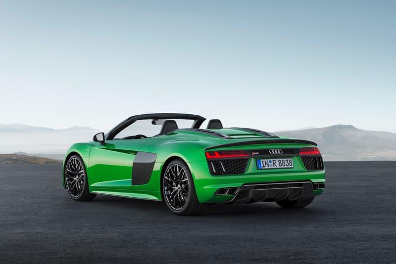 Audi 發佈 R8 V10 Spyder Plus 敞篷跑車