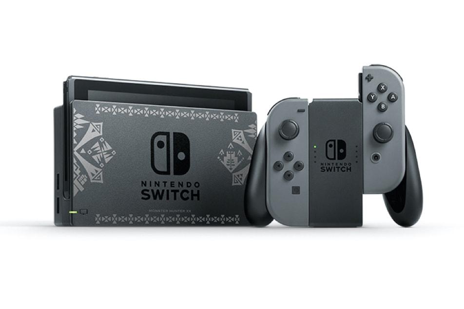 《Monster Hunter XX Nintendo Switch Ver.》別注版 Nintendo Switch 主機曝光