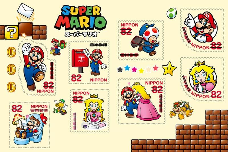 日本郵便推出「Super Mario」特別版郵票