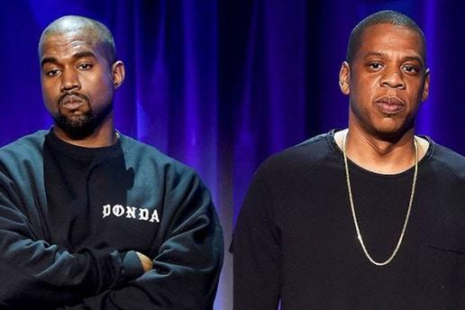 决裂!Kanye West 与 Jay Z 之间的恩怨史
