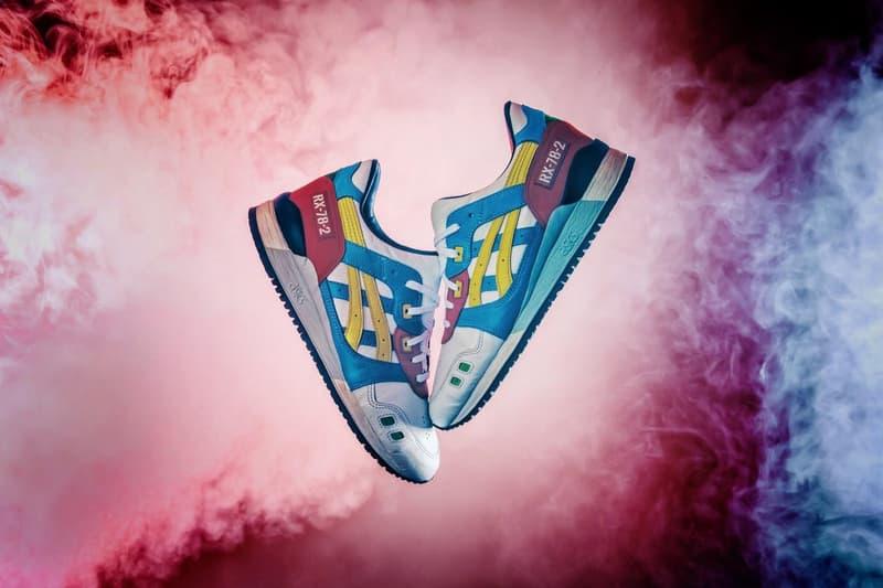 BespokeIND 'Gundam' ASICS GEL-Lyte III Custom