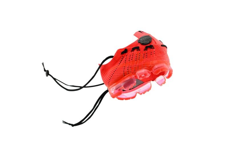 設計師王志鈞打造 CLOT x NikeLab Air VaporMax 球鞋面具