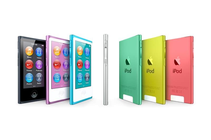 Apple 正式停產 iPod Nano 及 iPod Shuffle