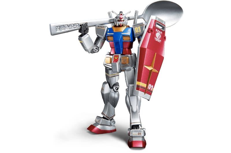 CoCo 壱番屋與高達合作打造以湯勺作為武器的 RX-78-2