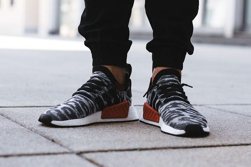 "adidas Originals NMD R2 ""Harvest"" On-Feet"