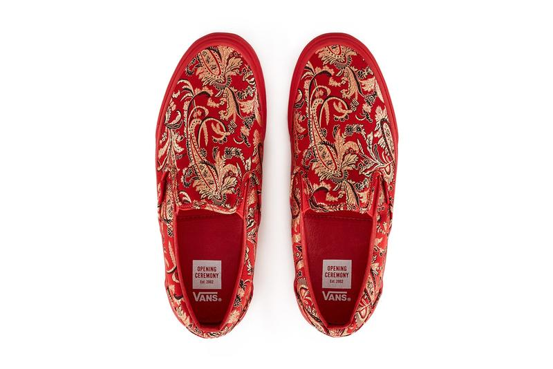 "Opening Ceremony & Vans Vault Slip-On ""Qi Pao"" Part 2"