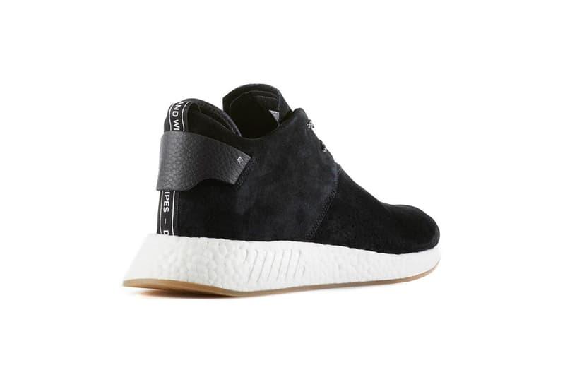 adidas Originals NMD C2 Black Leather White