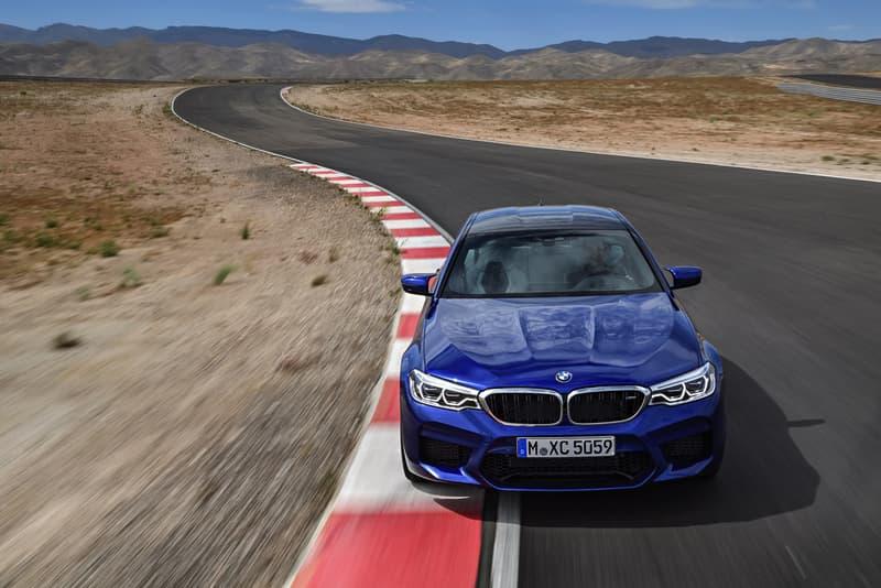 2018 年式樣 BMW M5 閃耀登場