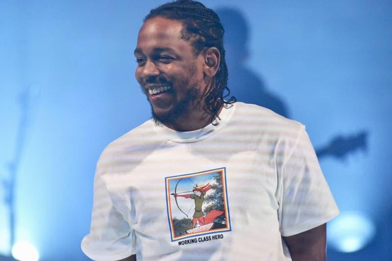 Kendrick Lamar DAMN. No.1 Billboard 200