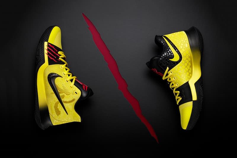 Nike Kyrie 3「Bruce Lee」別注版本發售信息公開