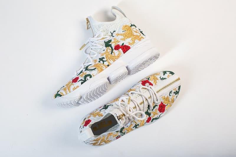 率先近賞 Nike LeBron 15 Zip「Floral」配色設計