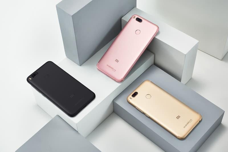 小米攜手 Google 推出新款小米 A1 智能手機