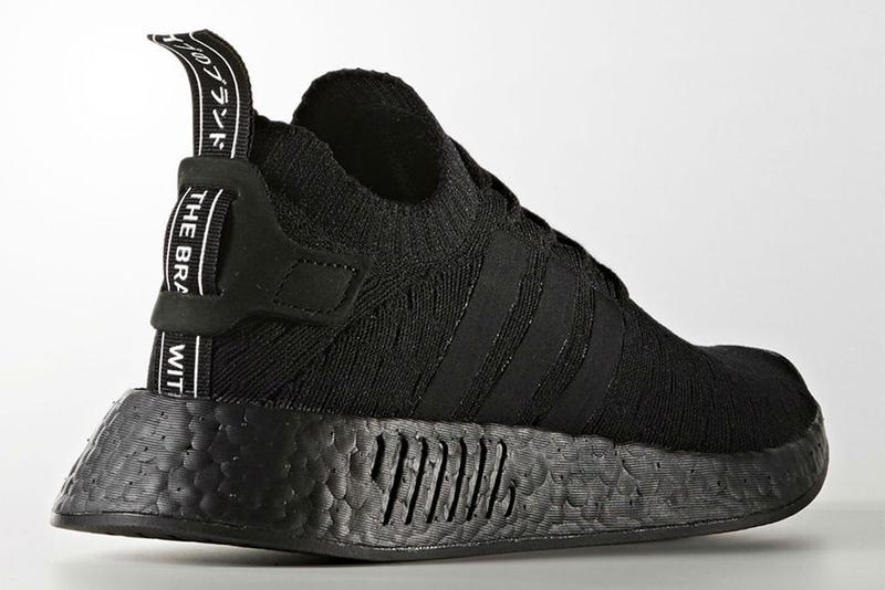 adidas Originals NMD R2 PK 全新「Triple Black」配色官方圖片釋出