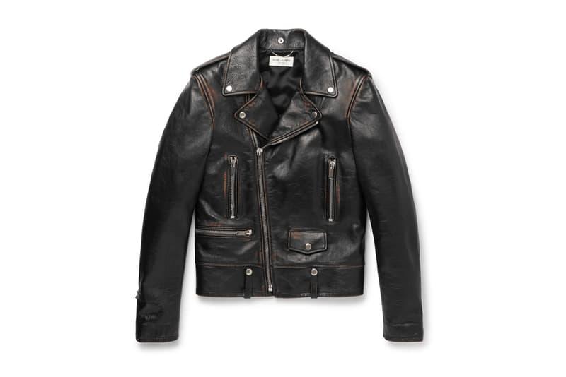 Saint Laurent 全新作舊效果 Biker Jacket 正式上架