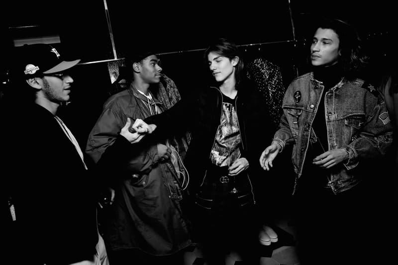 Saint Laurent x Travis Scott 別注黑膠唱片發佈酒會現場回顧