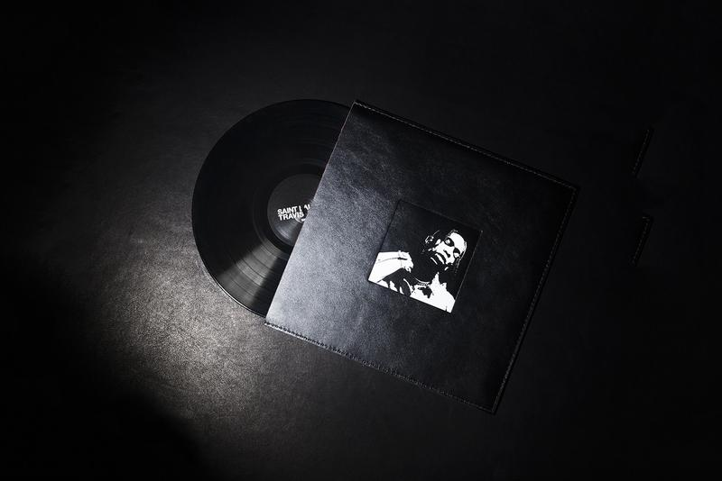 Travis Scott x Saint Laurent 限量版黑膠唱片