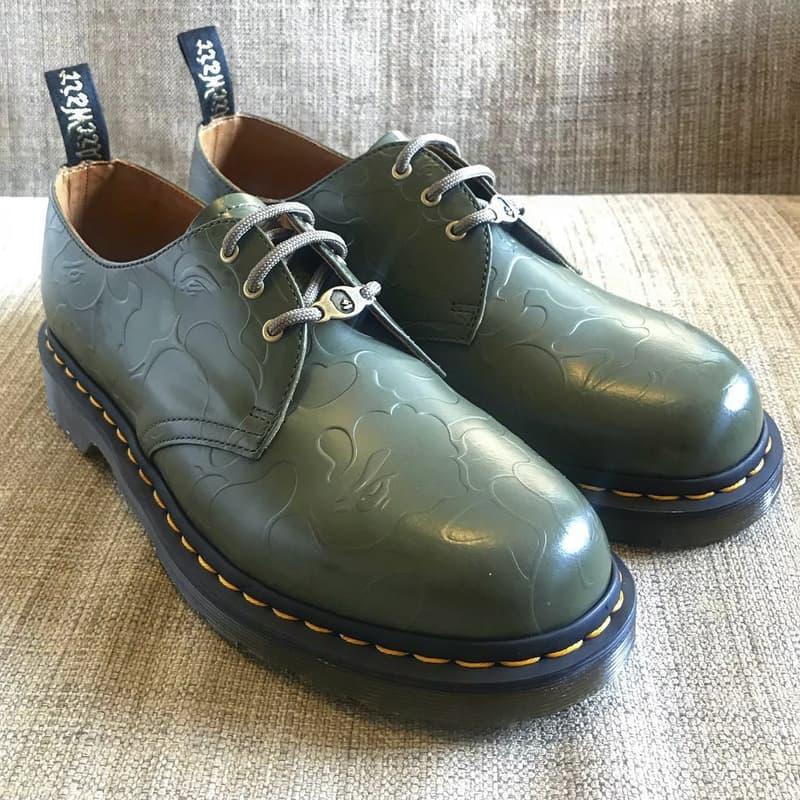 BAPE x Dr.Martens 最新聯名鞋款曝光