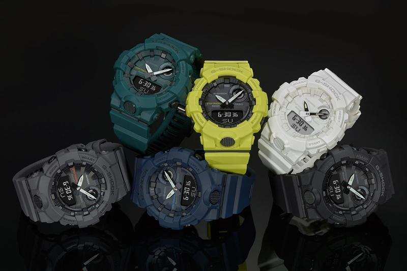 G-Shock 發佈全新 G-SQUAD 系列首款腕表