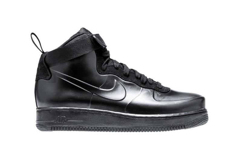 Nike Air Force 1 Foamposite 全新配色設計「Triple Black」