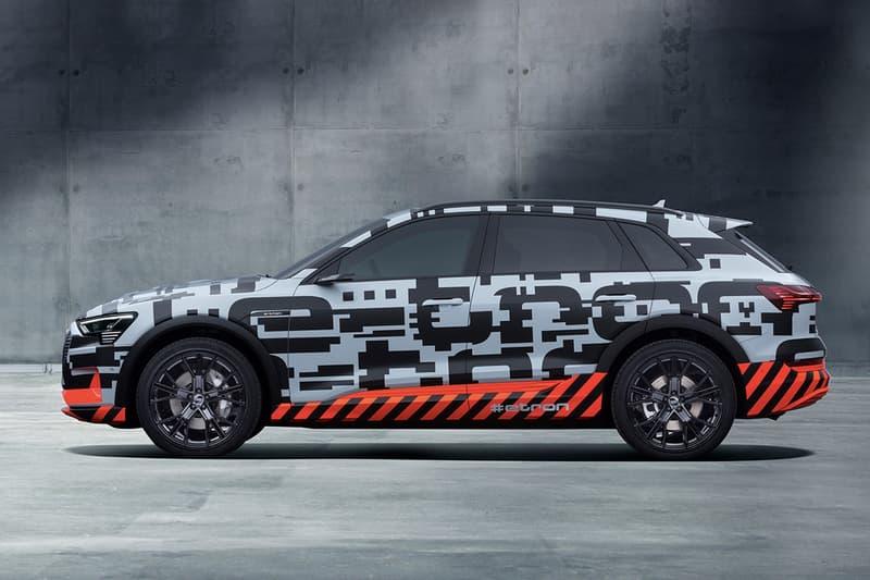 Audi 史上首款純電动車 e-tron 原型車曝光