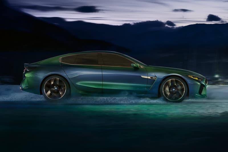 BMW 正式發佈 M8 Gran Coupe 概念轎跑