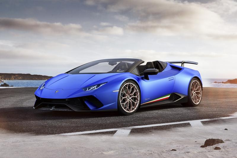 Lamborghini 推出 Huracan Performante Spyder 敞篷版超級跑車