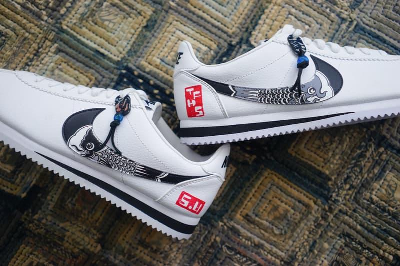 Simple Union 攜手 The Flying Hawk Studio 打造 Nike Cortez「Koinobori」客製鞋款
