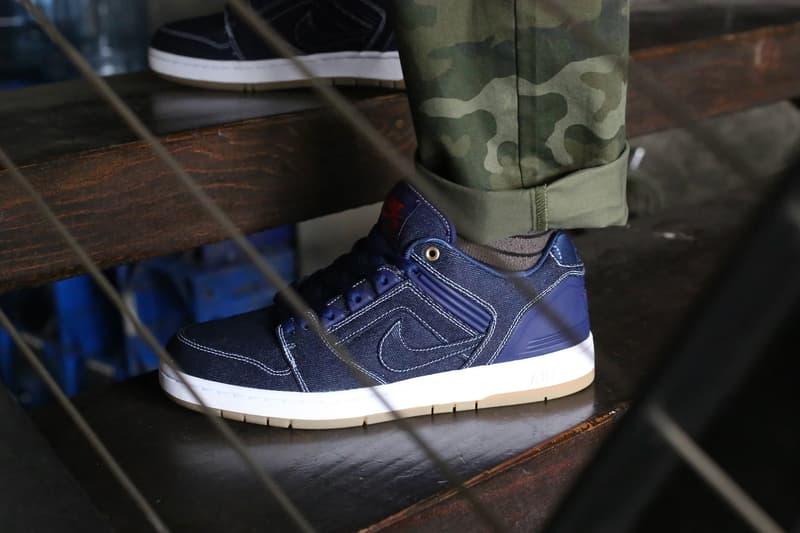 近賞 Nike SB Air Force 2 及 Dunk Low「Rivals」丹寧別注系列
