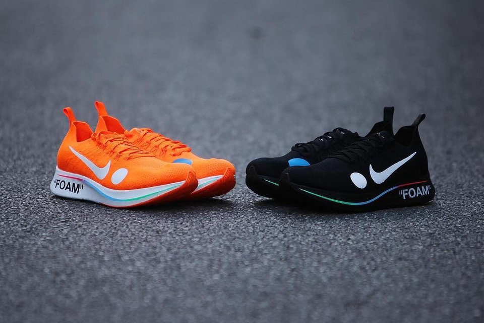 率先近賞 Off-White™ x Nike Zoom Fly Mercurial Flyknit 聯名系列