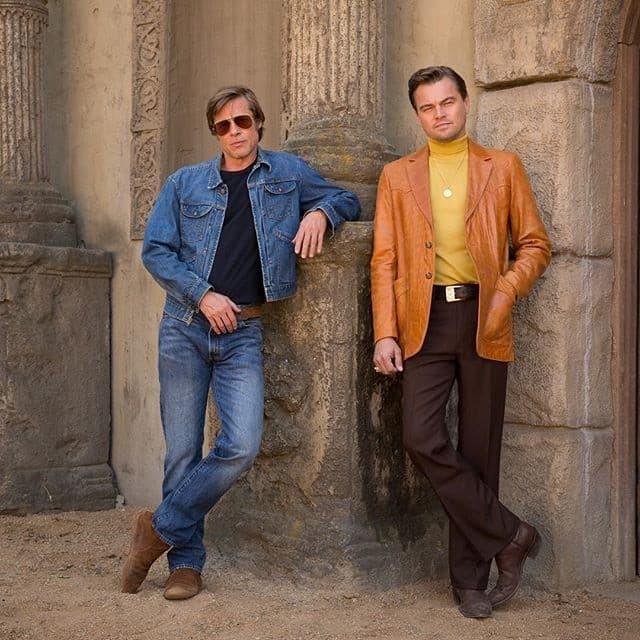 Brad Pitt 與 Leonardo 共演之 Tarantino 新作首張劇照釋出