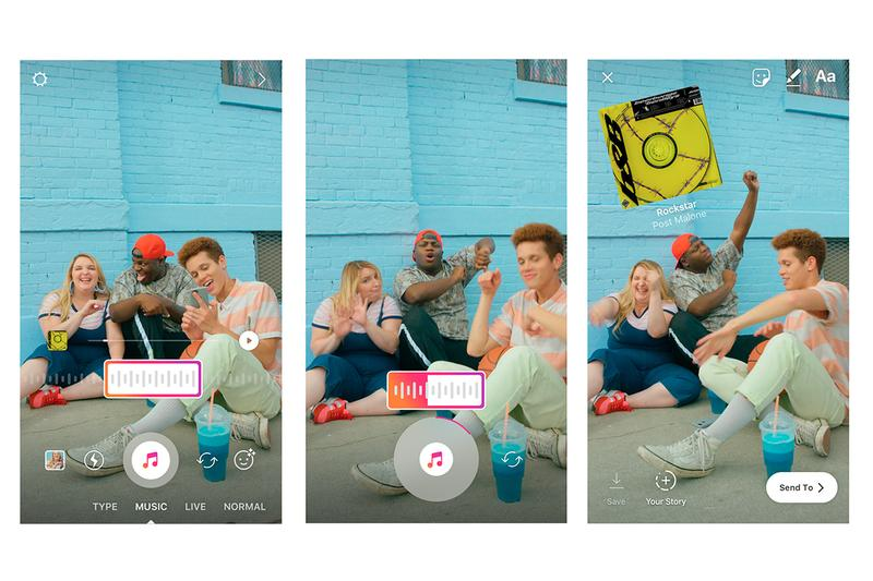 Instagram 正式推出 IG Stories「加入音樂」功能