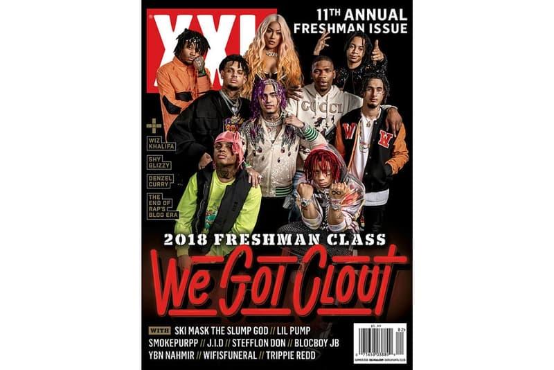 《XXL》發布 2018 Freshmen Class 名單