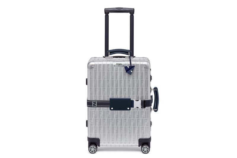 RIMOWA x Fendi 全新聯名行李箱系列發售詳情公布