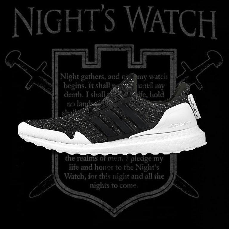 《Game of Thrones》x adidas 全新聯名 UltraBOOST「Night's Watch」配色曝光