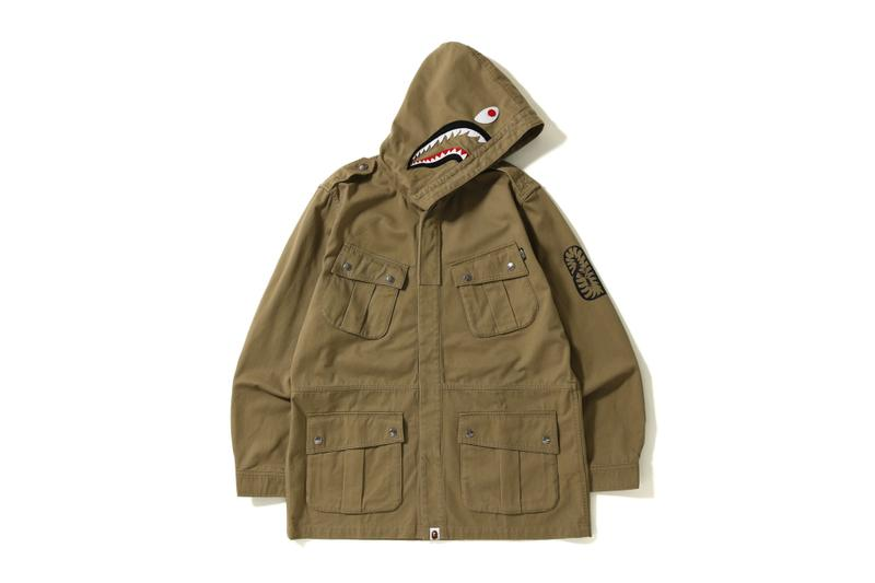 A BATHING APE® 全新 Shark Parachute Jacket 即將上架